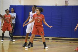 Varsity Girls Basketball (Playoffs) vs Watkins Mill HS 01Mar2017