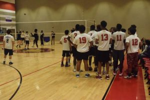 Boys Volleyball vs Magruder HS 21Mar2017