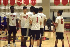 Boys Volleyball vs Sherwood HS HS 23Mar2017
