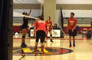COED Volleyball vs Kennedy 03Apr2017