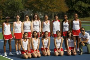 Girls Tennis vs. Blair High School