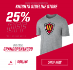 Grand Opening ~ Knights Gear It Up!