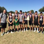 Dublin High School Boys Varsity Cross Country finishes 1st place