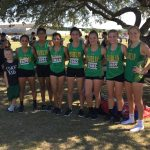 Dublin High School Girls Varsity Cross Country finishes 4th place