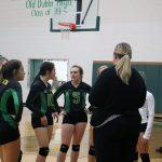 JV Volleyball vs Comanche 9-24-19