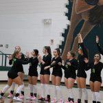 Varsity Volleyball vs Eastland 10-22-19
