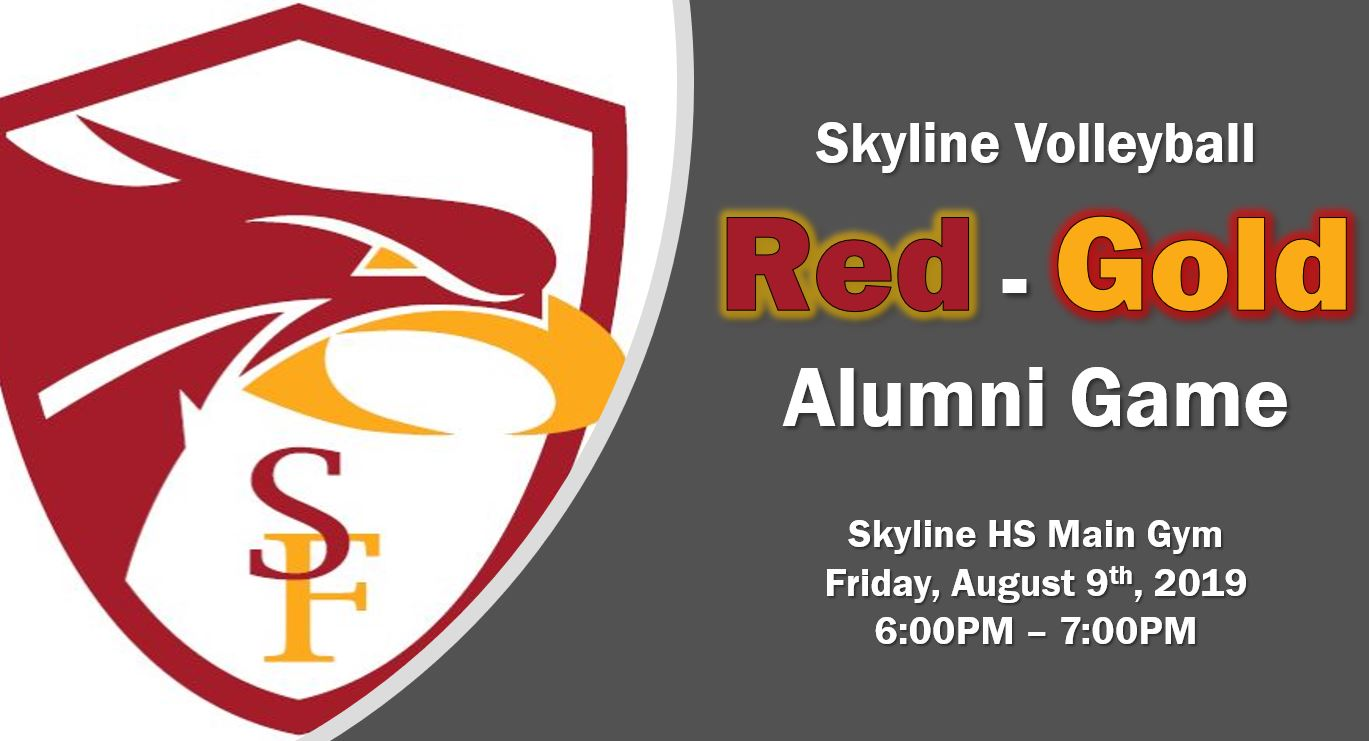 Skyline Volleyball 1st Annual Red – Gold Alumni Game