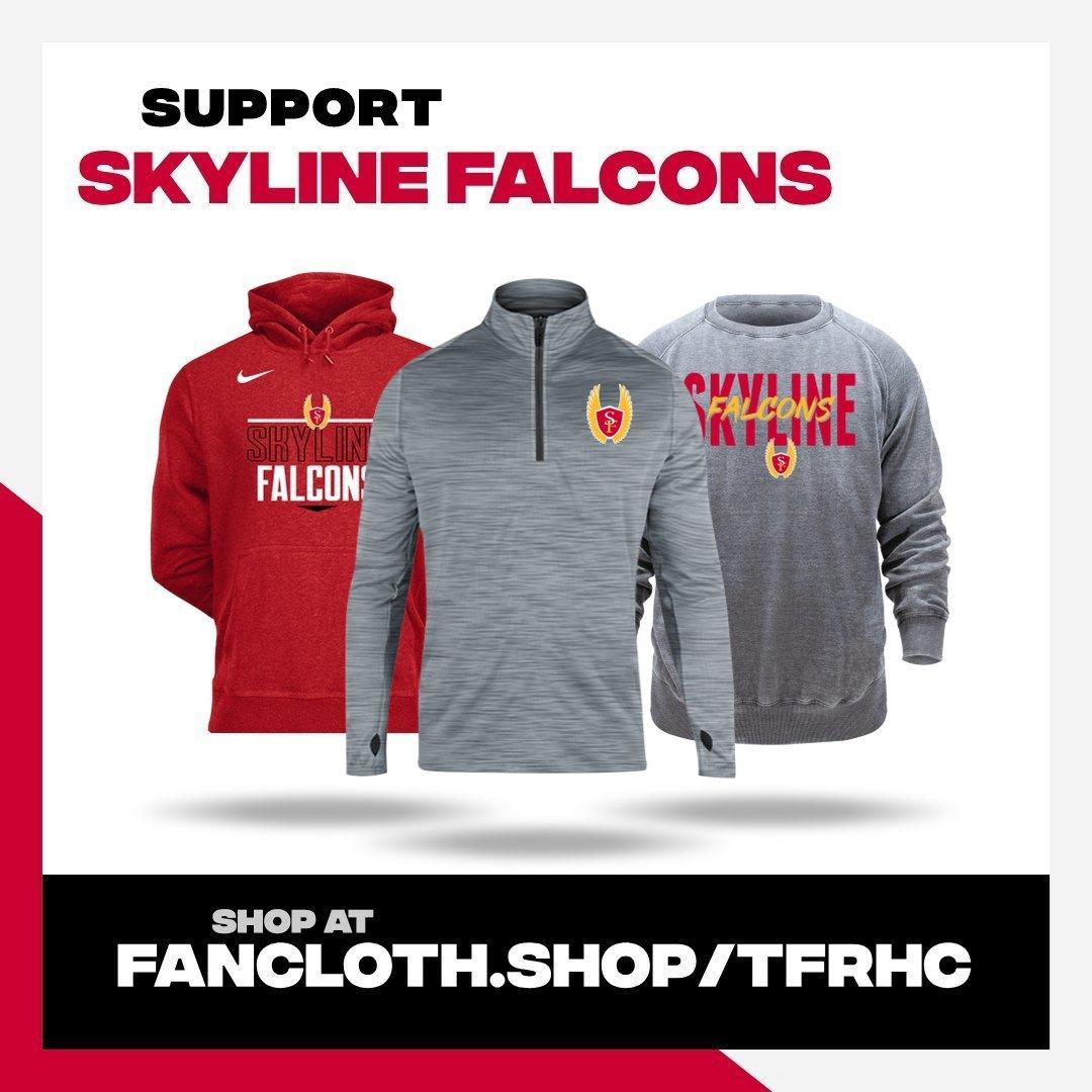 Skyline Falcons online apparel store OPEN TIL NOVEMBER 13th