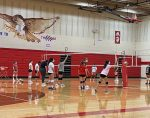 Spring 2021 Girls Volleyball Practice