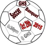 End of the Season Soccer Banquet Oct 29th