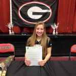 Taylor Anthony  Signing her NLI
