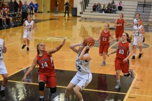 LHS Girls Basketball JV vs Frankton