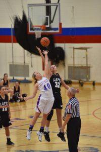 LHS Varsity Girls Basketball vs Elwood