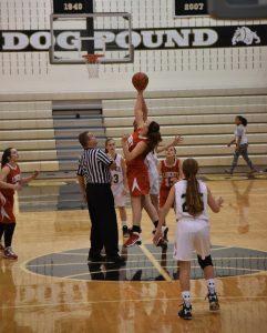 LHS Girls JV Basketball vs Liberty Christian