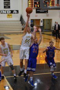 LHS Boys JV Basketball vs Elwood 1/30/2016