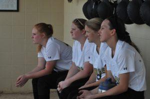 LHS Varsity Softball vs Hagerstown B 4/18/2016
