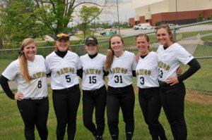 LHS Senior Night Varsity Softball May 2016