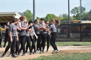 LHS Varsity Softball vs Mt Vernon Misc Pictures May 2016