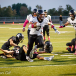 Lapel Football Sharp at Knightstown