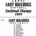 Softball Sectional T Shirts