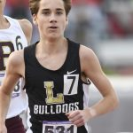 Luke Combs Finishers 3rd in the 1600 at the State Track Meet