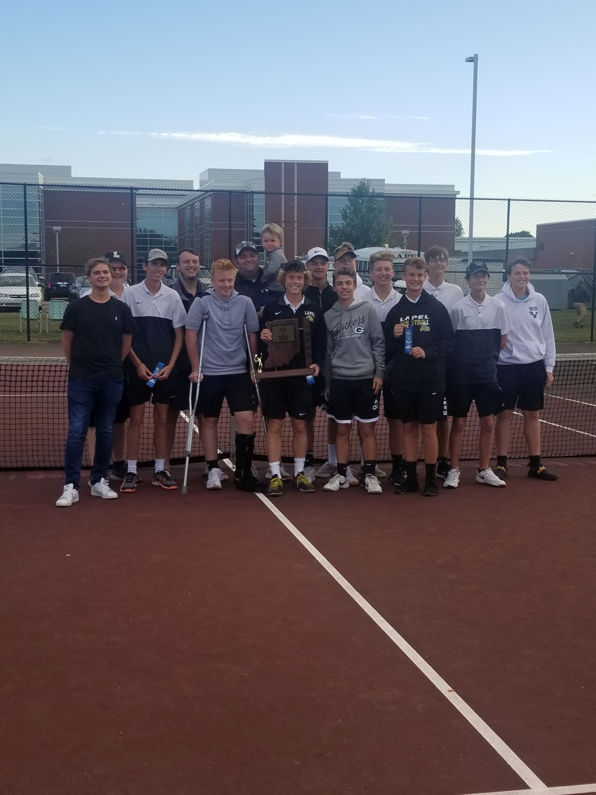Boys Tennis wins 7th Sectional and Jesse McCurdy advances to Semi Finals in Tennis.