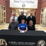Charlie Prough Signs with Hanover College in Hanover, Indiana.