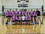 Lapel High School Dig Pink Volleyball Game