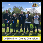 Boys Varsity Golf finishes 1st place at Madison County