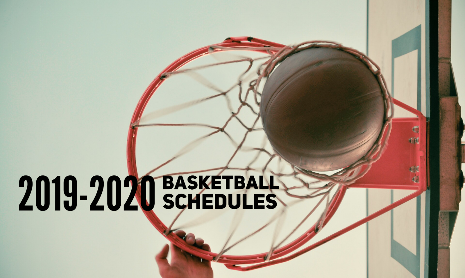 REVISION TO THE 2019-2020 BASKETBALL SCHEDULES