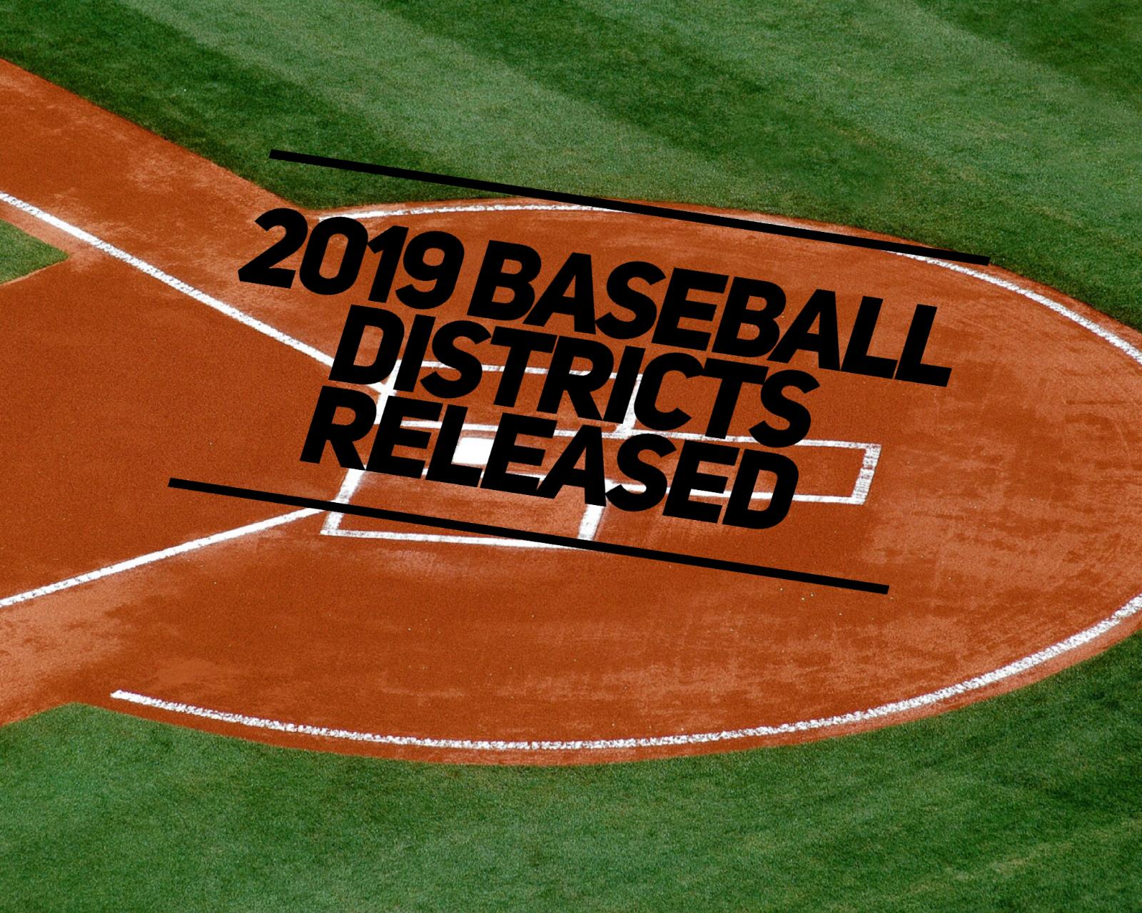 2019 Baseball Districts