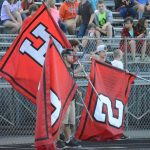 Ticket information for varsity football at Richmond 9-25-20