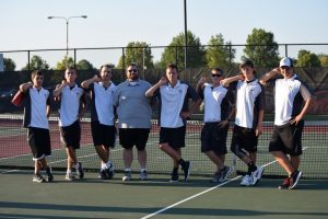 Boys Tennis Senior Night