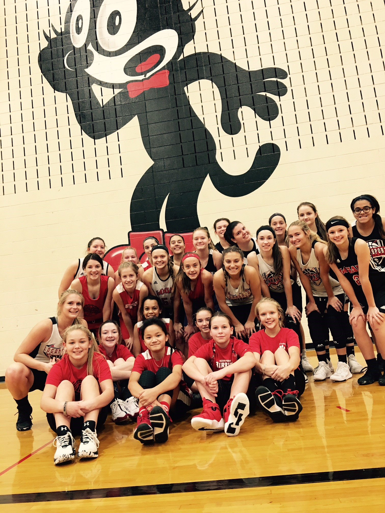 Logansport Junior High Girls' Basketball Try-Outs