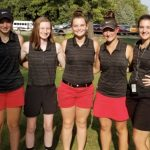 Girls Varsity Golf finishes 7th place at Sectional