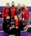 Girls Varsity Gymnastics finishes 1st place at Northwestern Invitational