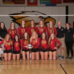 Big Walnut Volleyball – 2017 OCC Champions 19-3 Overall 10-0 OCC