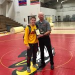 Senior Bailey Munday – Most Valuable Wrestler – Luke Worley Award