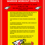 Warrior Workout Fridays Big Walnut Athletics