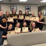 BWHS Varsity Volleyball Team