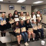 BWHS Varsity Girls Soccer Team