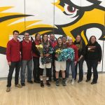 Varsity Girls Basketball beat New Albany on Senior Night
