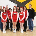 2.9.18 BWHS Cheer SENIOR RECOGNITION – Anna Cryan, Aaliyah Mabe, Allie Tornes