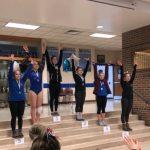 2.10.18 OCC Gymnastics Championships – Senior Mary Dimitroff 2nd & Junior Kayla Hildebrand 6th in ALL AROUND
