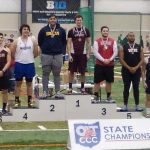 Track – Brandon Mosher and Caleb Ramey Podium at States