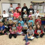 4.6.18 BWHS Boys Lacrosse Team Reads to 2nd Graders @ Big Walnut Elementary for 2nd & 7 Reading Program