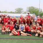 Girls Varsity Track finishes 1st place at OCC Track & Field Championships