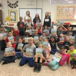 10.5.18 BWHS Girls Tennis Players read to 2nd Graders @ BWE for 2nd & 7 Reading Program