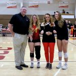2018 BWHS Volleyball Senior Night Pics