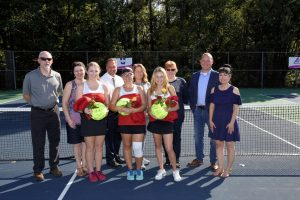 2018 BWHS Girls Tennis Senior Night Pics
